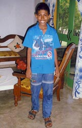Nuwan - 12 years old